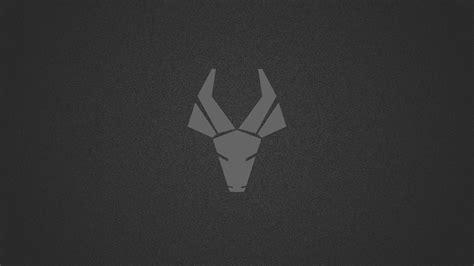deer logo dark minimalism  hd artist  wallpapers