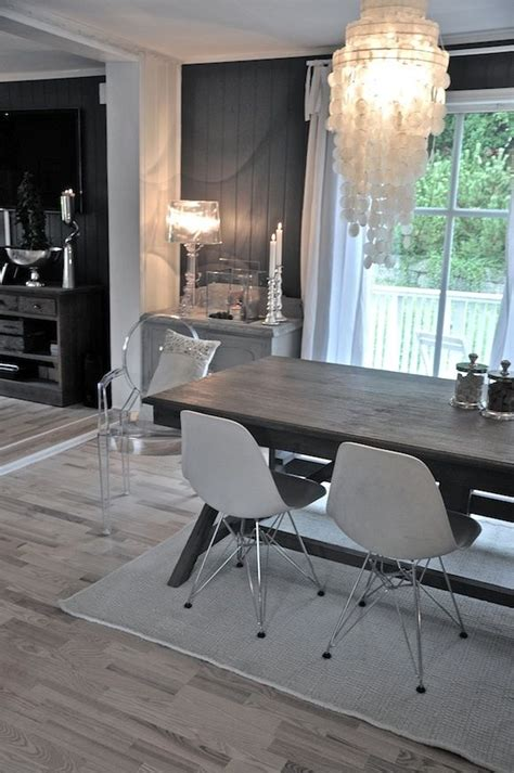 neutral grey black and white color scheme in painted