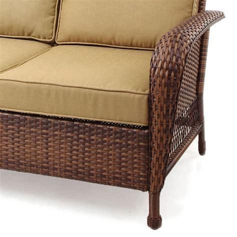 kohls madera loveseat replacement cushion garden winds