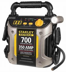 Battery Jump Starter Air Compressor Peak Portable Car Charger Booster 700
