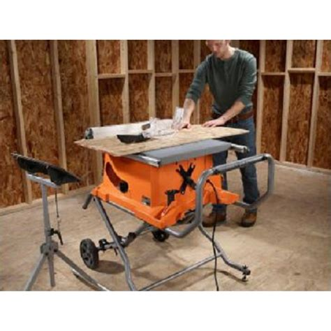 ridgid 15 10 in compact table saw factory reconditioned ridgid zrr4513 15 amp 10 in