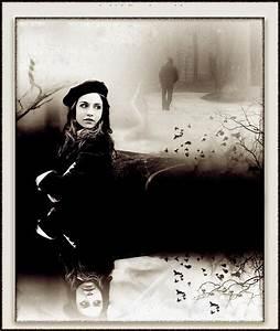 Sad girl and sad boy frame wallpapeper for urdu shayari ...