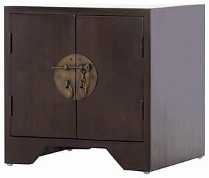 Table De Chevet Style Asiatique Table De Lit