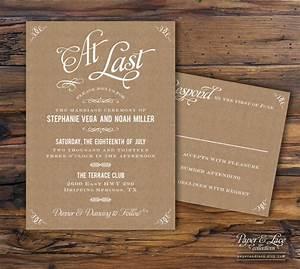 wedding invitations paper kraft paper wedding invitations With wedding invitations on brown paper