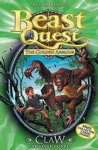 Claw the Giant Monkey (Beast Quest, #8) by Adam Blade