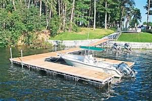 Motorized Floating Dock
