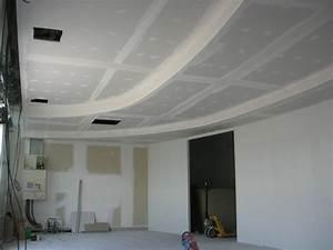 Pose D Un Faux Plafond En Ba13 : du plafond d 39 un commerce sur 3 niveaux en gironde plafond ~ Melissatoandfro.com Idées de Décoration