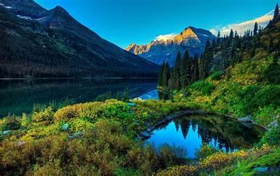 Mountain Summer Lake