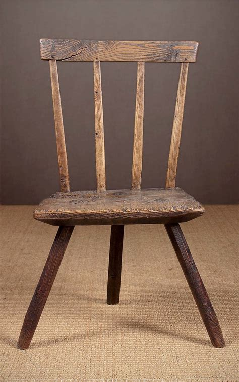 primitive welsh stick  chair  antiques atlas
