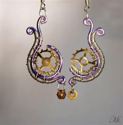 Steampunk Earrings 11 By Thecraftsman On Deviantart