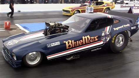 Funnycar Funny Nhra Drag Racing Race Hot Rod Rods Blue Max