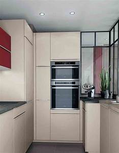 Toutes nos astuces deco pour amenager une petite cuisine for Idee deco cuisine avec cuisine tout Équipée avec Électroménager