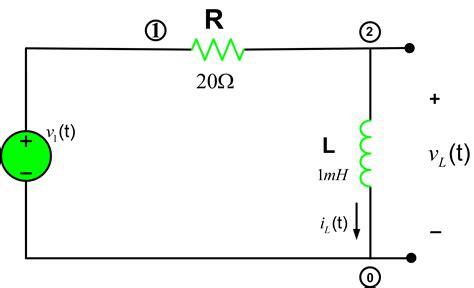 series rl circuit analysis  matlab electrical academia