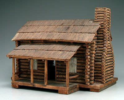model  room log cabin  porch early