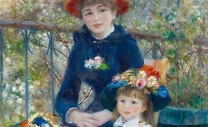 Two Sisters by Pierre-Auguste Renoir - galleryIntell