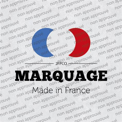 Création D'un Label Marquage Made In France® Cmag