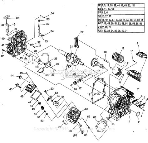 Generac Gth Old Parts Diagram For Engine
