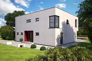 Exklusive Fertighäuser Villen : fertighaus einfamilienhaus als kubus im bauhausstil kfw 70 55 oder besser energiesparhaus ~ Sanjose-hotels-ca.com Haus und Dekorationen