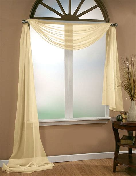 Window Scarf by 17 Best Ideas About Window Scarf On Curtain