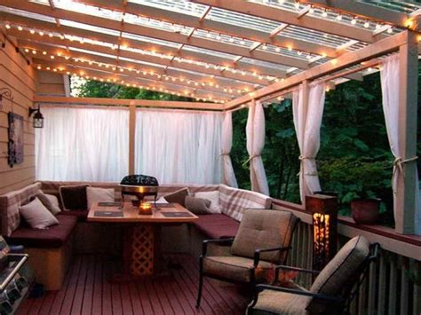 Cool Backyard Patios by Cheap Patio Cover In Backyard Ideas With Deck Cool Cozy