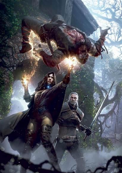 Witcher Geralt Rivia Hunt Wild Wallpapers Games