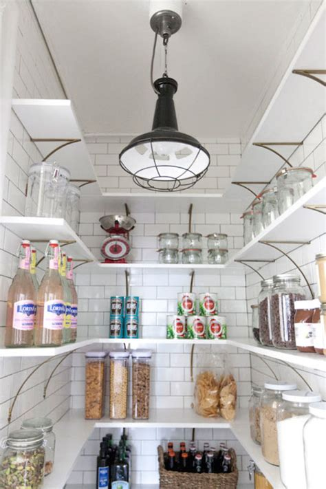 pantry shelves cottage kitchen  happy day