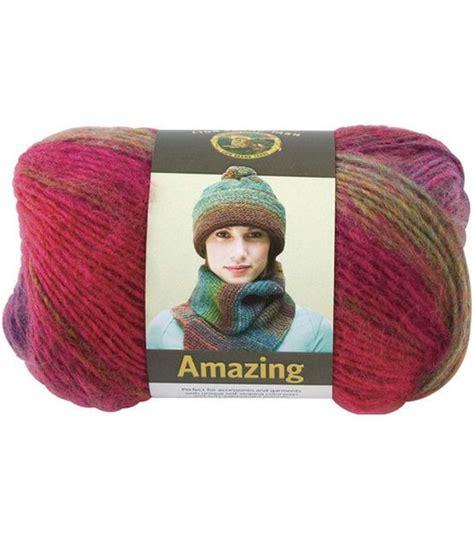 Lion Brand Amazing Yarn, , Hires I Like The Colors Mauna