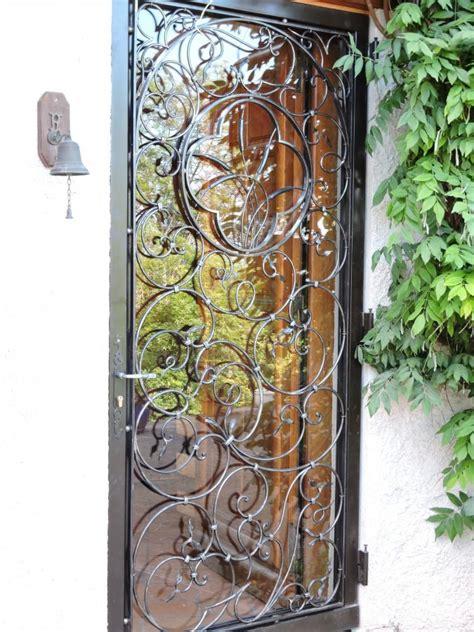 porte fer forge moderne ferronnerie d rocle portes portes fer forg 233 portes et fer forg 233