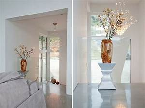 sol beton cire et interieur blanc dans une maison design super With tapis de gym avec cire pour canapé simili cuir