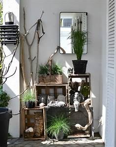 Balkon Ideen Sommer : look pimp your room terrassen styling mit weinkistenregal ~ Markanthonyermac.com Haus und Dekorationen