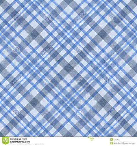 Blue Checked Fabric Seamless Pattern Stock Photos   Image