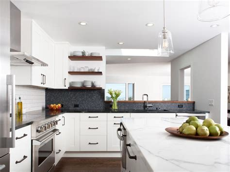 Industrialmodern White Kitchen  2014  Hgtv