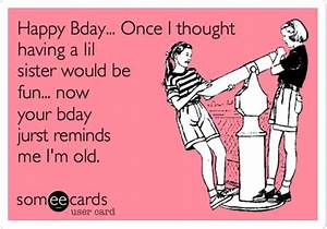 funny birthday wishes for sister - Google Search   FB ...