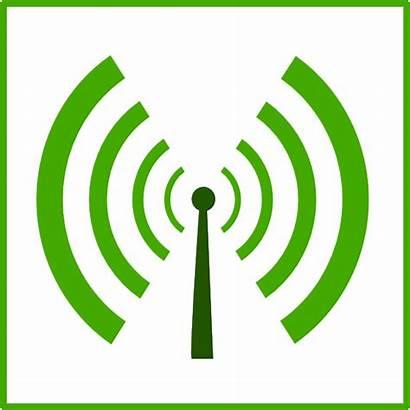 Wifi Symbol Icon Pollution Sign Clipart Eco