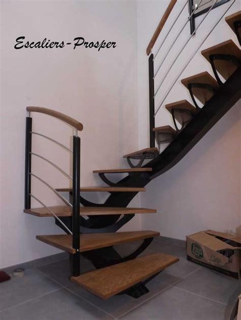 escalier 1 4 tournant m 233 tiss 174 224 limons droit limon