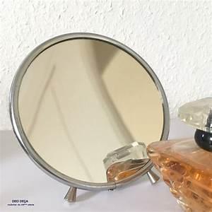 Miroir Barbier Rond : miroir barbier rond de ci de a design meubles et objets du 20 me si cle ~ Teatrodelosmanantiales.com Idées de Décoration