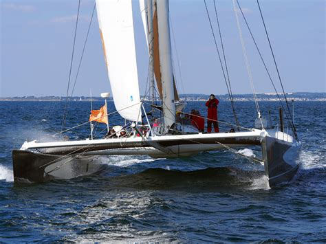 Catamaran Yacht Racing by Racing Maxi Catamaran Multihull Yacht Charter