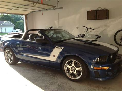 buy used 2007 ford mustang roush 427r convertible in
