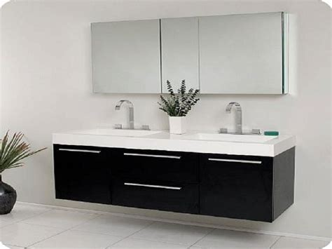 black modern double sink bathroom vanity cabinet bathroom