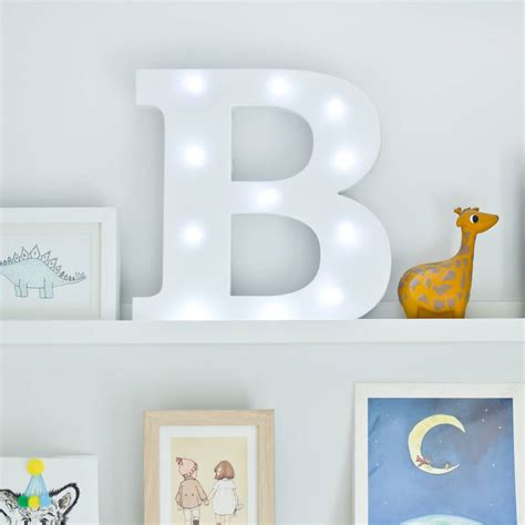 light up letter white light up letters by letteroom notonthehighstreet