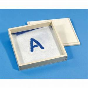 letter formation sand tray by primary concepts With letter formation sand tray