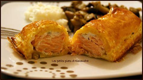 feuillet 233 au saumon les petits plats d alexandra
