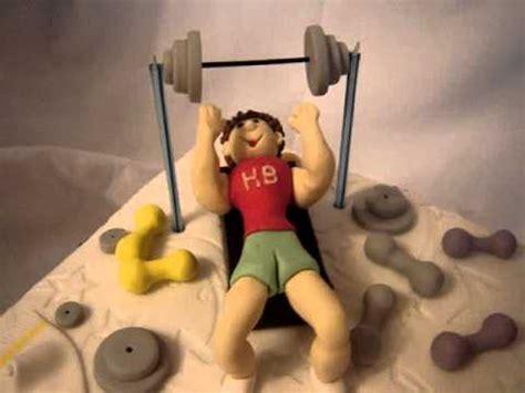 weight lifting cake youtube