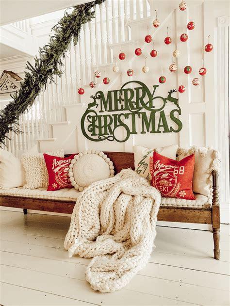 diy christmas ornament gallery wall chirstmas diy