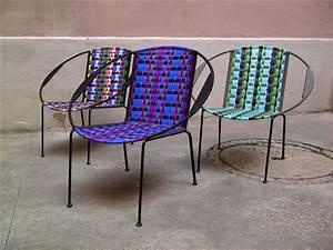 Fauteuil Fil Plastique : mobilier fauteuils togo beno t guyo fils plastiques ~ Edinachiropracticcenter.com Idées de Décoration