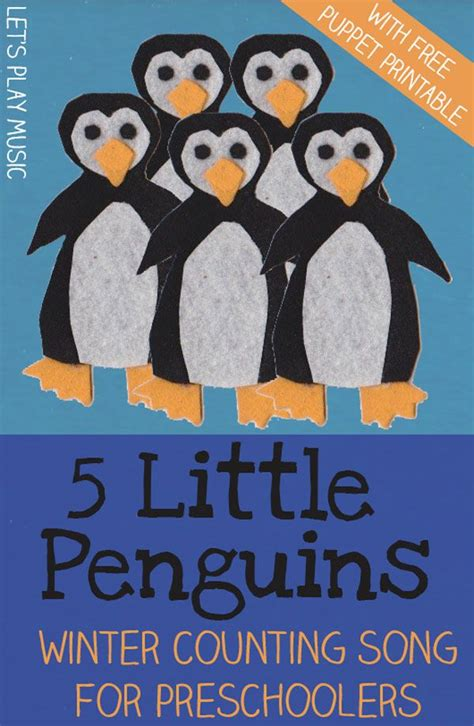 5 penguins counting songs winter counting 860 | 791d3631559fdb000cbd39469ac6c76e