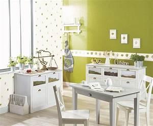 Tapisserie Pour Cuisine : frise cuisine papier peint ~ Premium-room.com Idées de Décoration