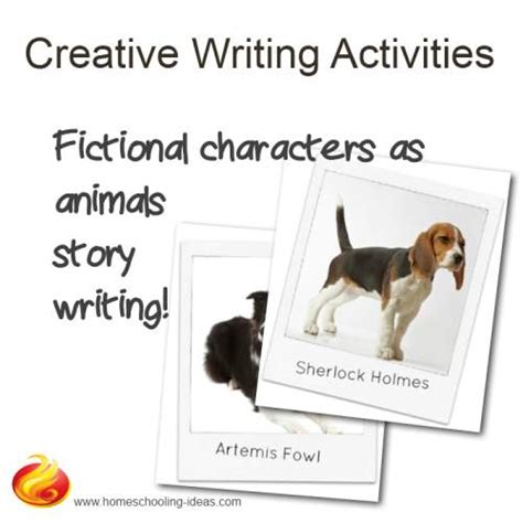creative writing activities fictional characters