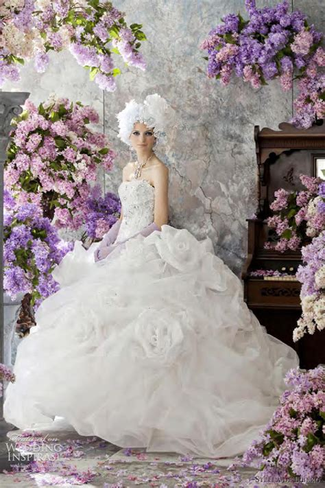 list  stella de libero white gold wedding dresses top