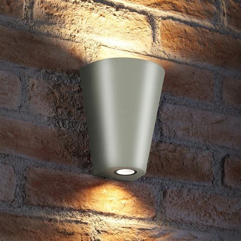 auraglow 14w outdoor double up down wall light